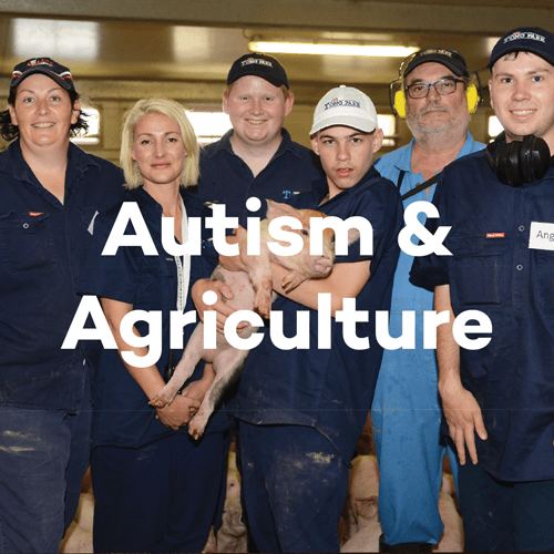 About SunPork - Our Autism and Agriculture Program - 100% Australian Pork Supplier