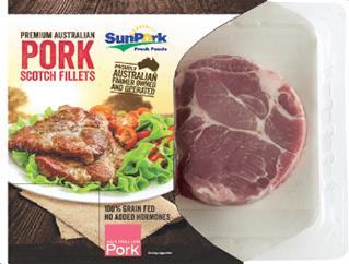 Premium Australian Pork Scotch Fillets - Koal by SunPork Fresh Foods - Australian Pork Export