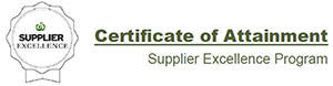 Certificate of Attainment - Woolworths Supplier Excellence Program