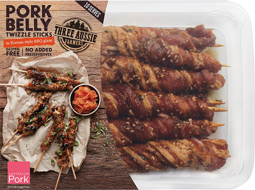Pork Belly Twizzle Sticks