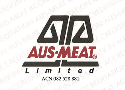 Certificate of Accreditation - AUS-MEAT