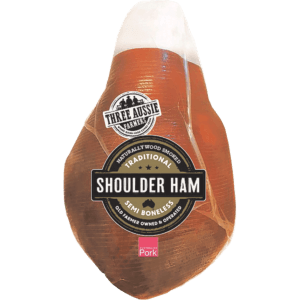 Three Aussie Farmers Semi Boneless Shoulder Ham
