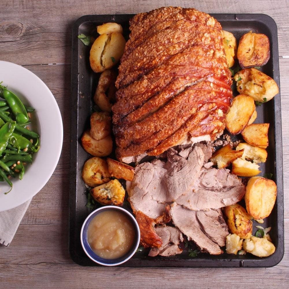 Uber Crunchy Pork Crackle - SunPork Pork Leg Roast