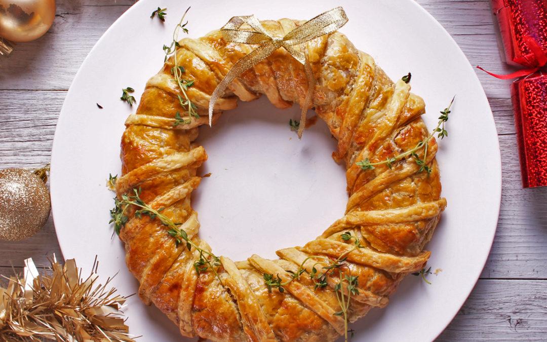 Christmas Wreath Sausage Roll