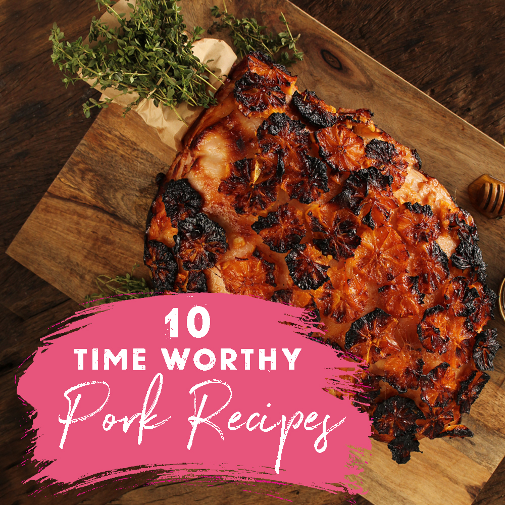 10 time worthy recipes - Pork Recipes by SunPork Fresh Foods