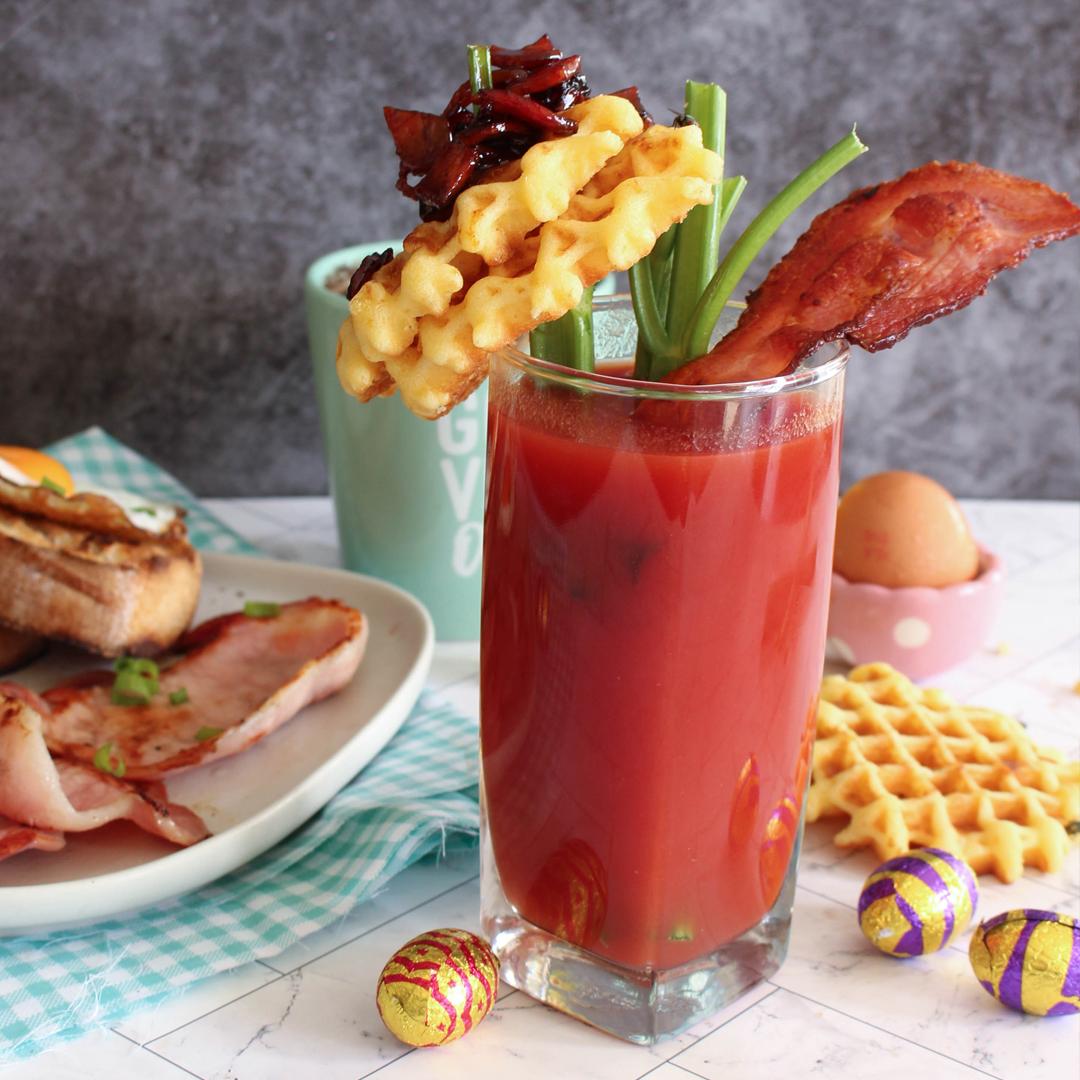 BBQ Bacon Bloody Mary - Bacon
