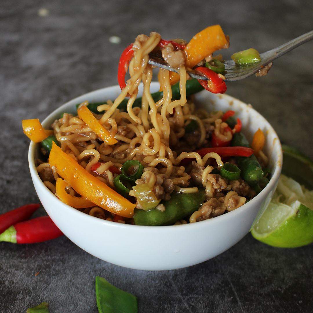 Jazzed Up 2 minute noodles