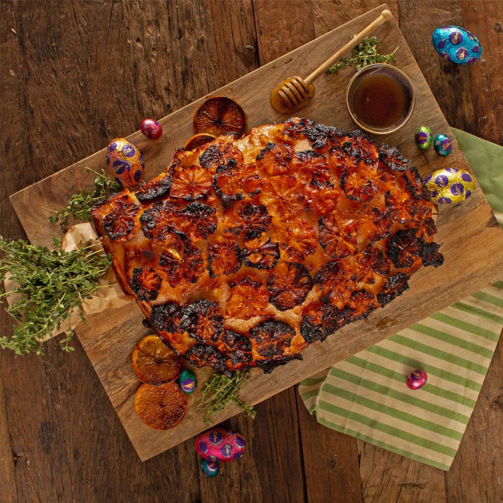 Honey Orange Glazed Ham