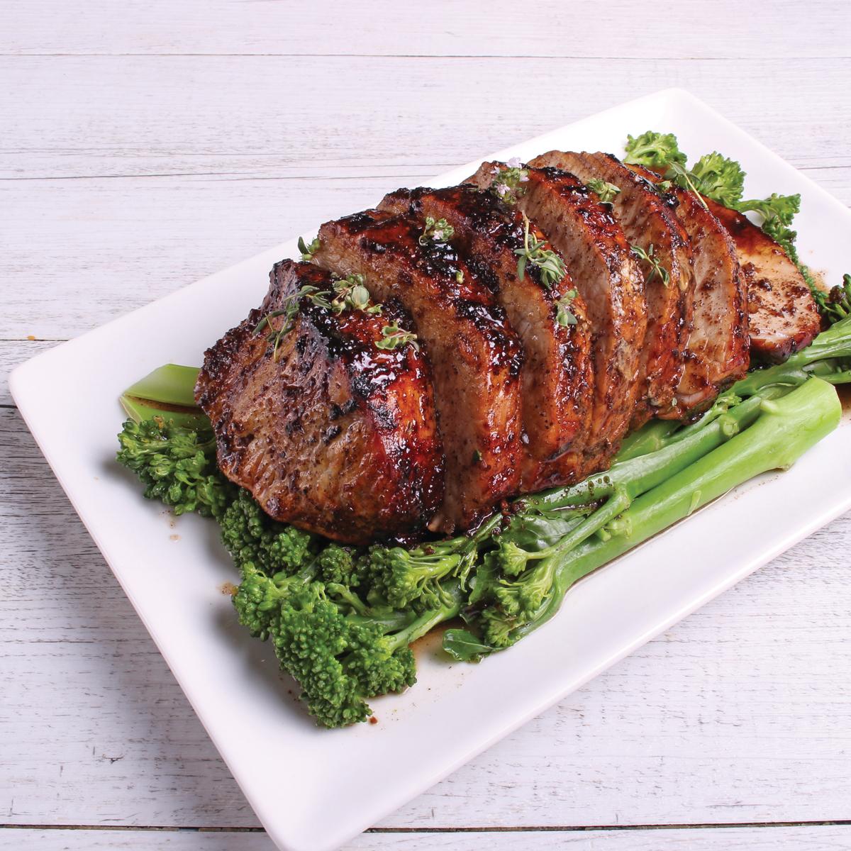 Pork Agrodolce- pork loin