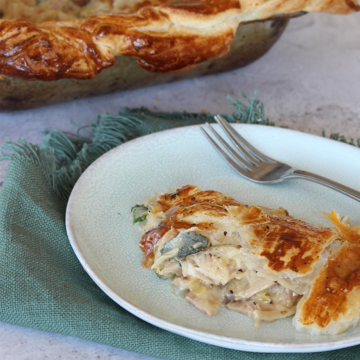 Pork Pot Pie - Tenderloin
