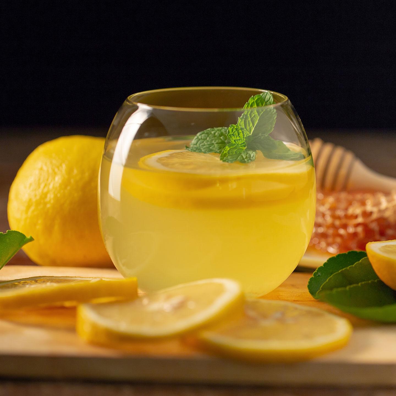 Honeybee/Honeysuckle cocktail